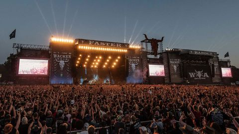 Two elderly men who were reported missing from their nursing home had apparently sneaked out of the facility to rock out a heavy metal music festival in Germany.
