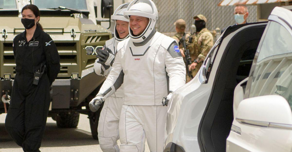 Historic Elon Musk mission on target for...