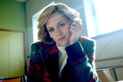 Kristen Stewart plays Princess Diana in the biopic Spencer.
