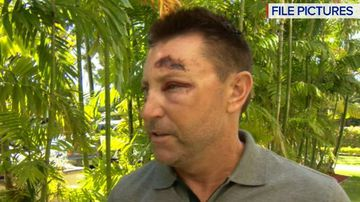 Rob Allenby arrested outside US casino