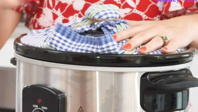 The slow-cooker cake steaming hack