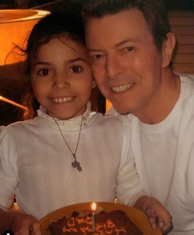 David Bowie and Iman's daughter Lexi Jones.