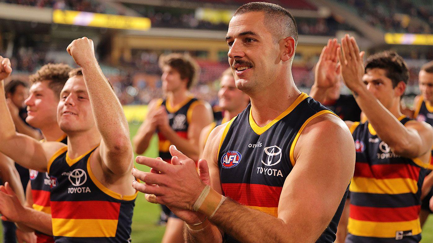 Taylor Walker shrugs off pressure to end Melbourne's winning streak with last-minute goal