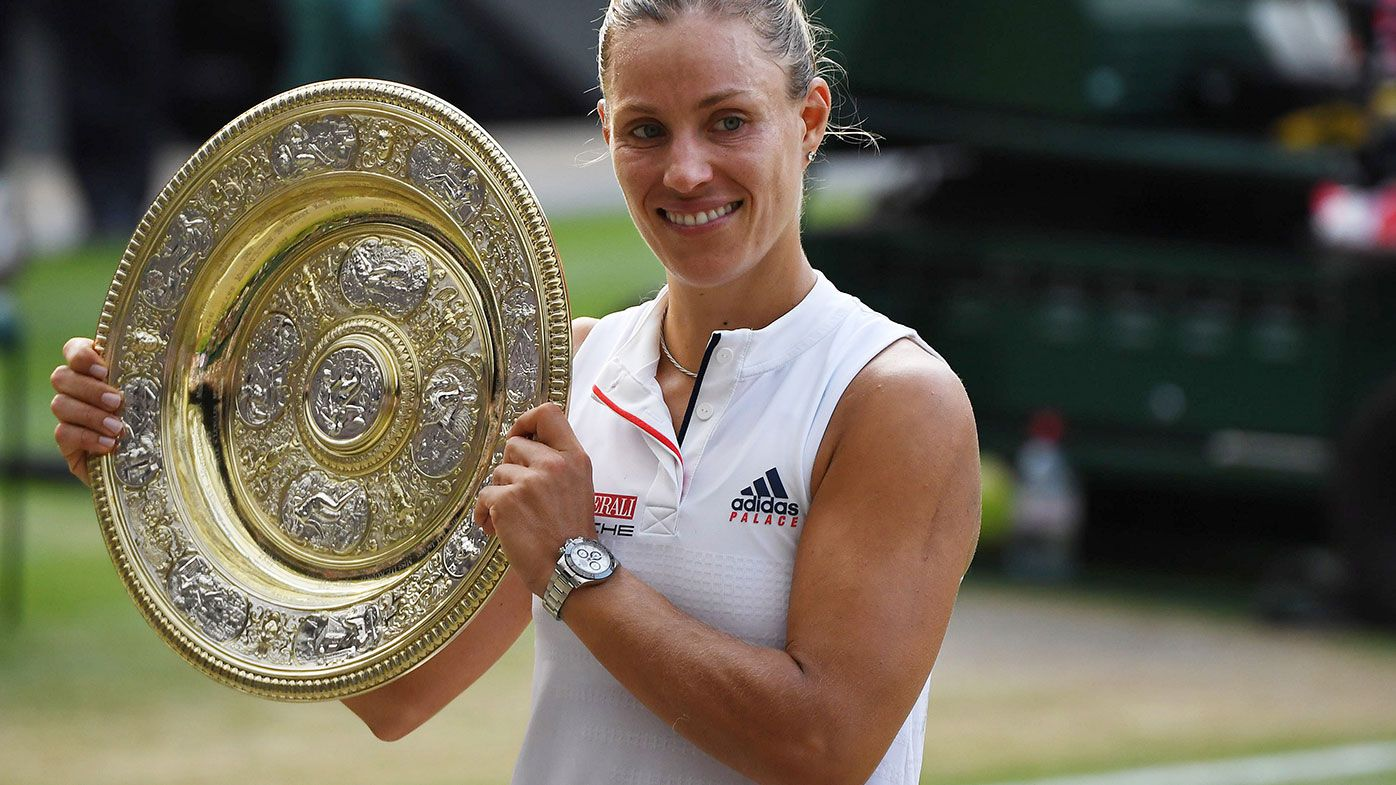 Kerber in rare company with Wimbledon win