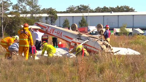 Two freed from light plane crash in NSW