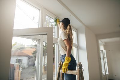 Washing windows: 136 calories an hour