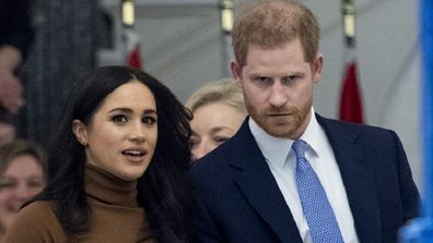 Harry and Meghan visit Canada house