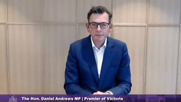 Victorian Premier, Daniel Andrews, speaks at the Hotel Quarantine Inquiry on 25 September, 2020.