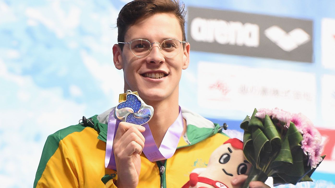 Mitch Larkin sounds individual medley intentions at Pan Pacs after silver medal