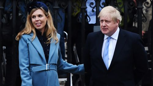 Carrie Symonds, Boris Johnson's fiancée, 'on the mend' from coronavirus