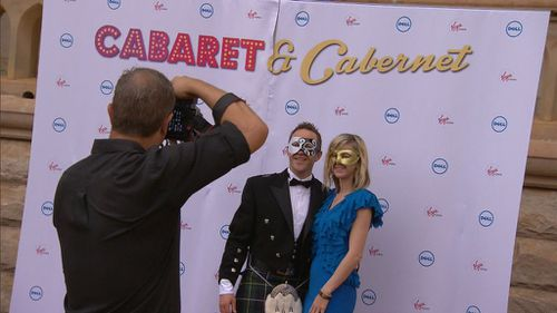 Mr Abbott made the announcement at last night's Manly Masquerade Ball. (9NEWS)