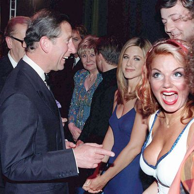 The Prince of Wales, Jennifer Aniston, Stephen Fry and the Spice Girls
