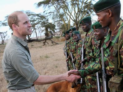 Prince William in Africa