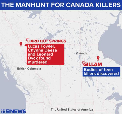 The hunt for Bryer Schmegelsky and Kam McLeod stretched across Canada.