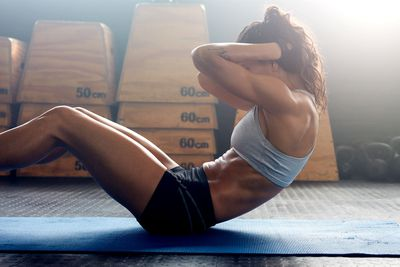 Sit-ups are the best exercise for a six-pack