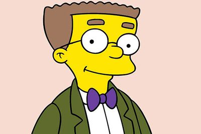 No list of TV gays and lesbians would be complete without Waylon Smithers. He started out with a not-so-subtle crush on his boss Mr Burns before gradually coming out of the closet during <I>The Simpsons</I>' two-decade run.