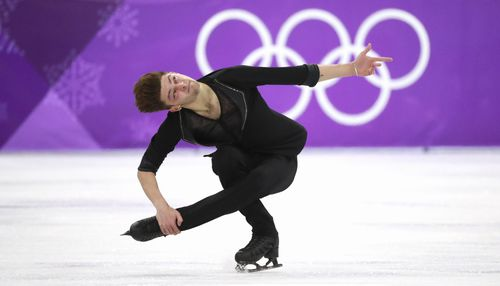 He recorded an equal season-best free skate when he landed a triple lutz-triple toe loop, triple axel and triple axel-double toe loop. (AAP)