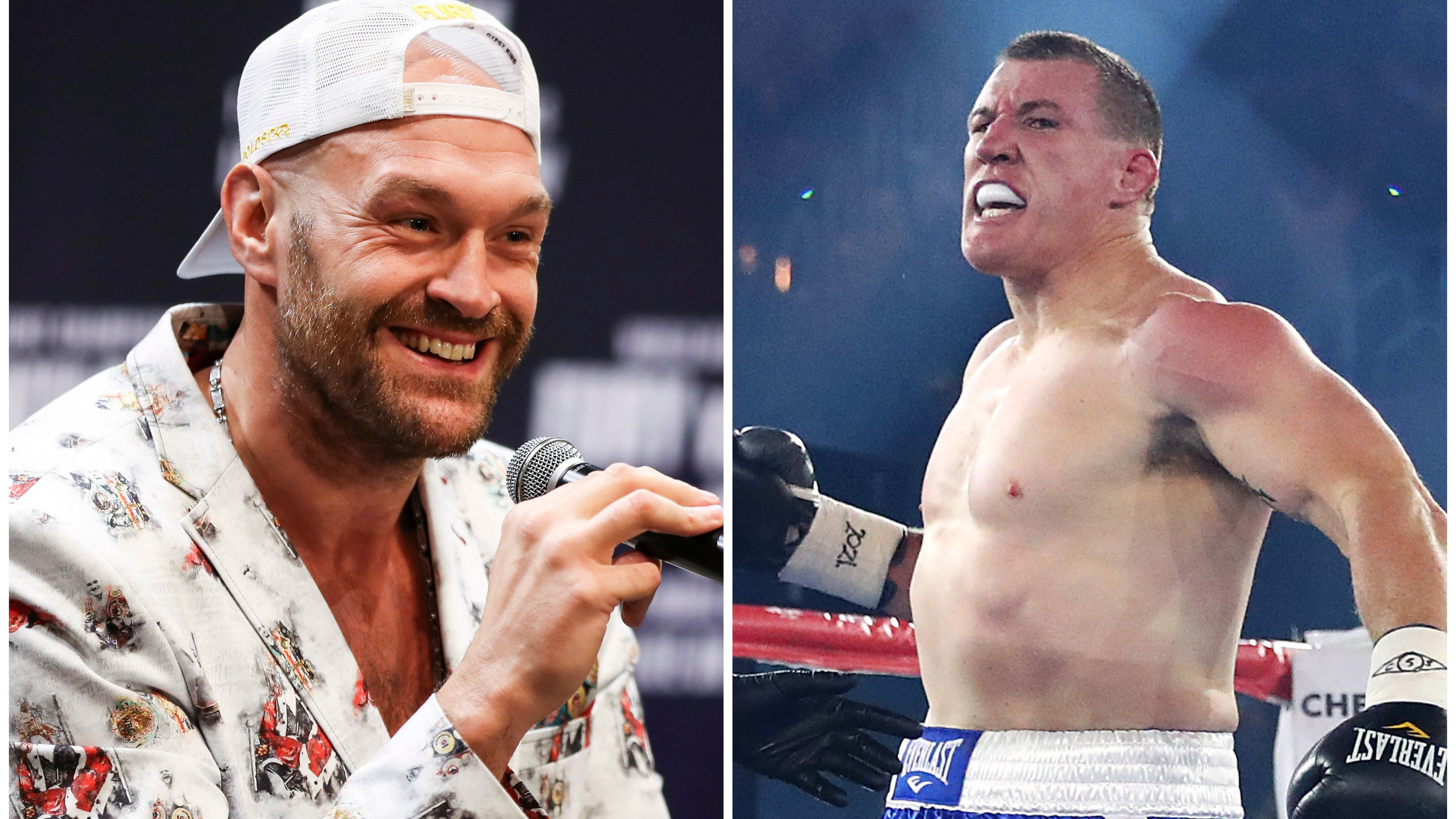 Boxing icon Tyson Fury's unexpected praise for Paul Gallen