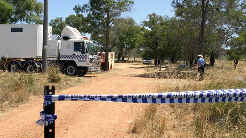 Police searched a property formerly owned by Wark in 2013. (AAP)