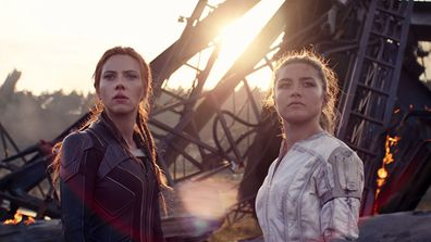 Scarlett Johansson, Florence Pugh, Black Widow