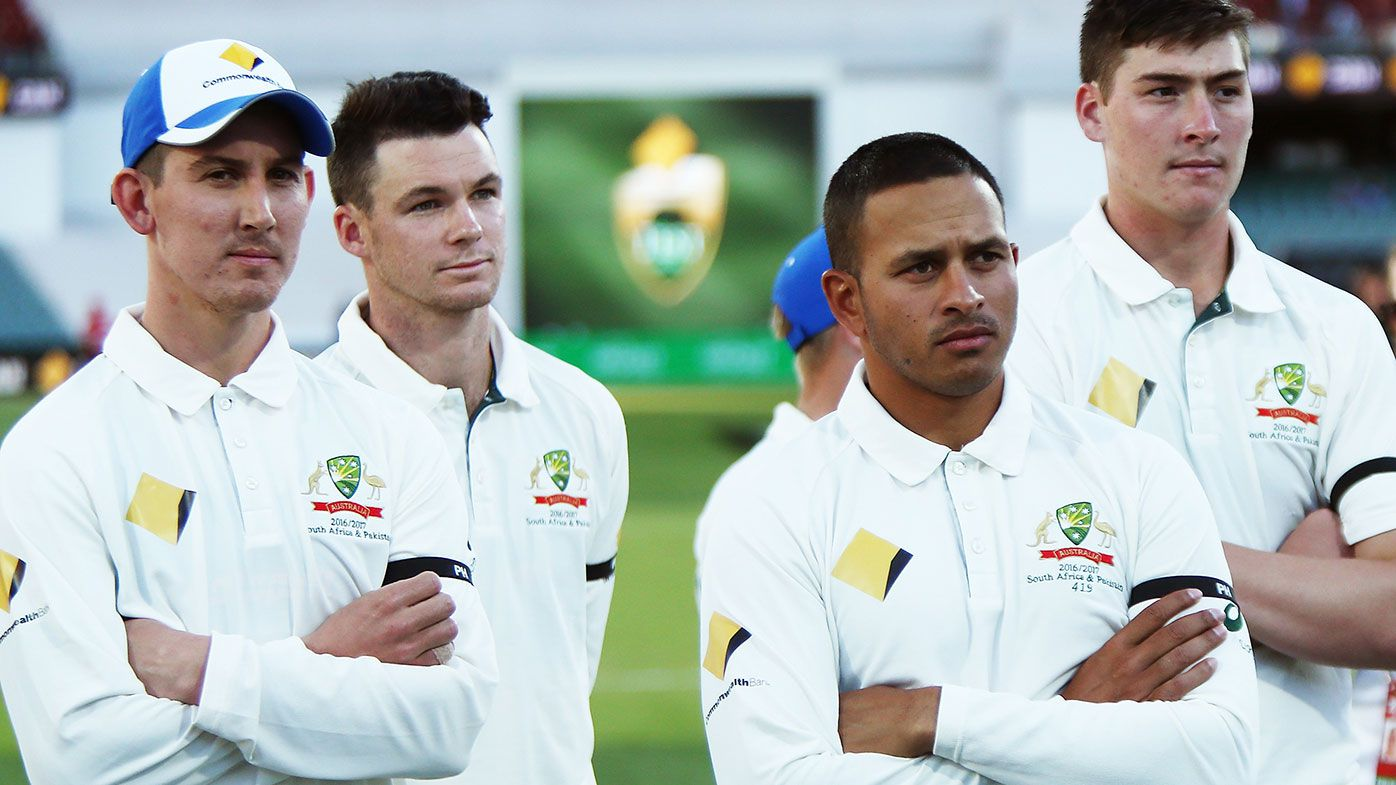 Nic Maddinson (left) could be set for a Test recall.