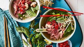 Vietnamese lamb pho