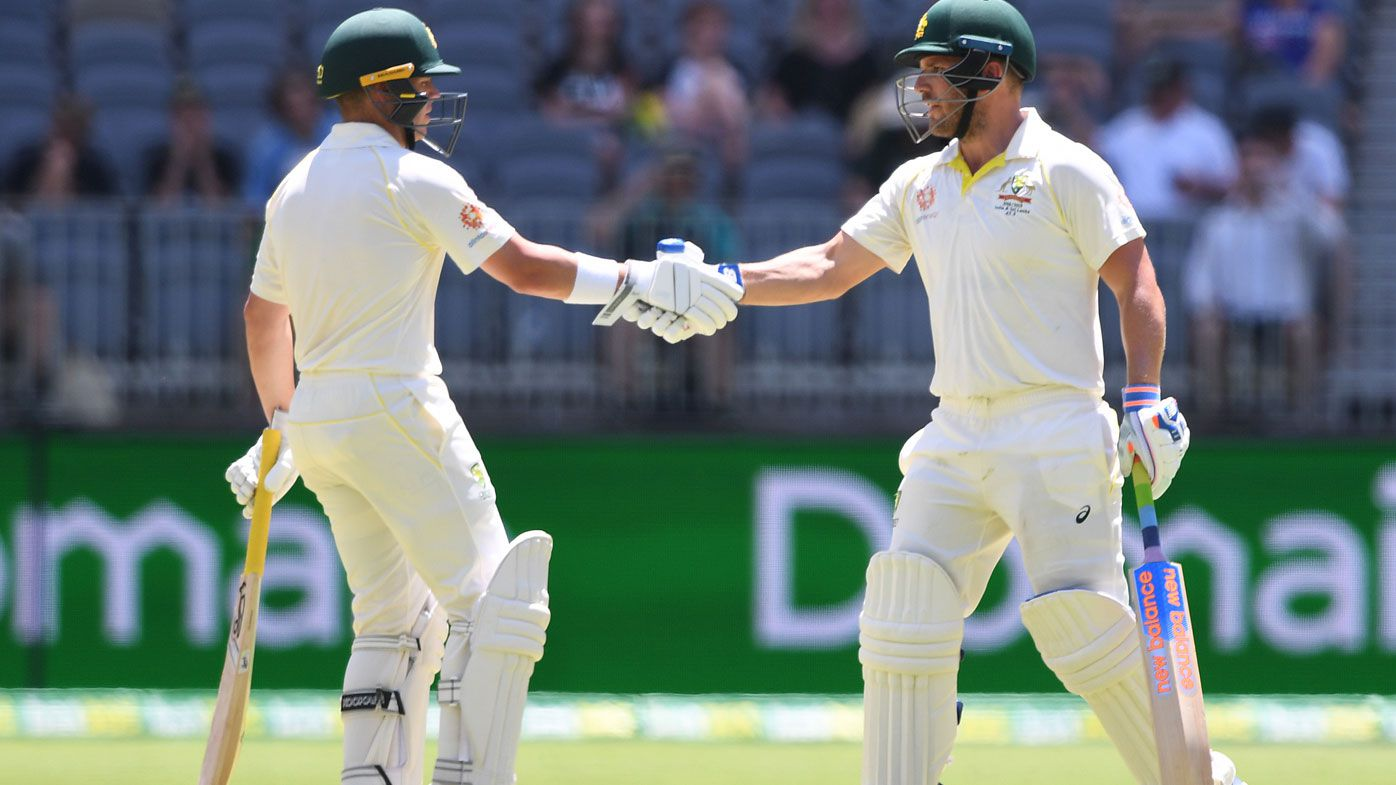 'Crucial' opening partnership spares Aussies perilous bounce in Perth