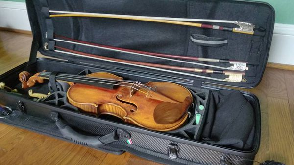 Emmanuel Borowsky's $80k violin