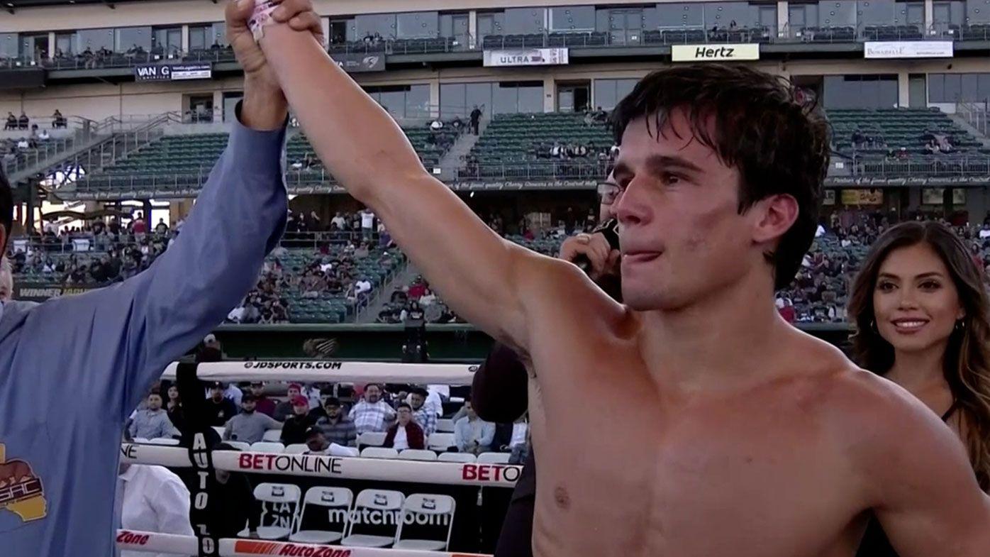 Aussie star overcomes 'disaster' in stunning TKO win