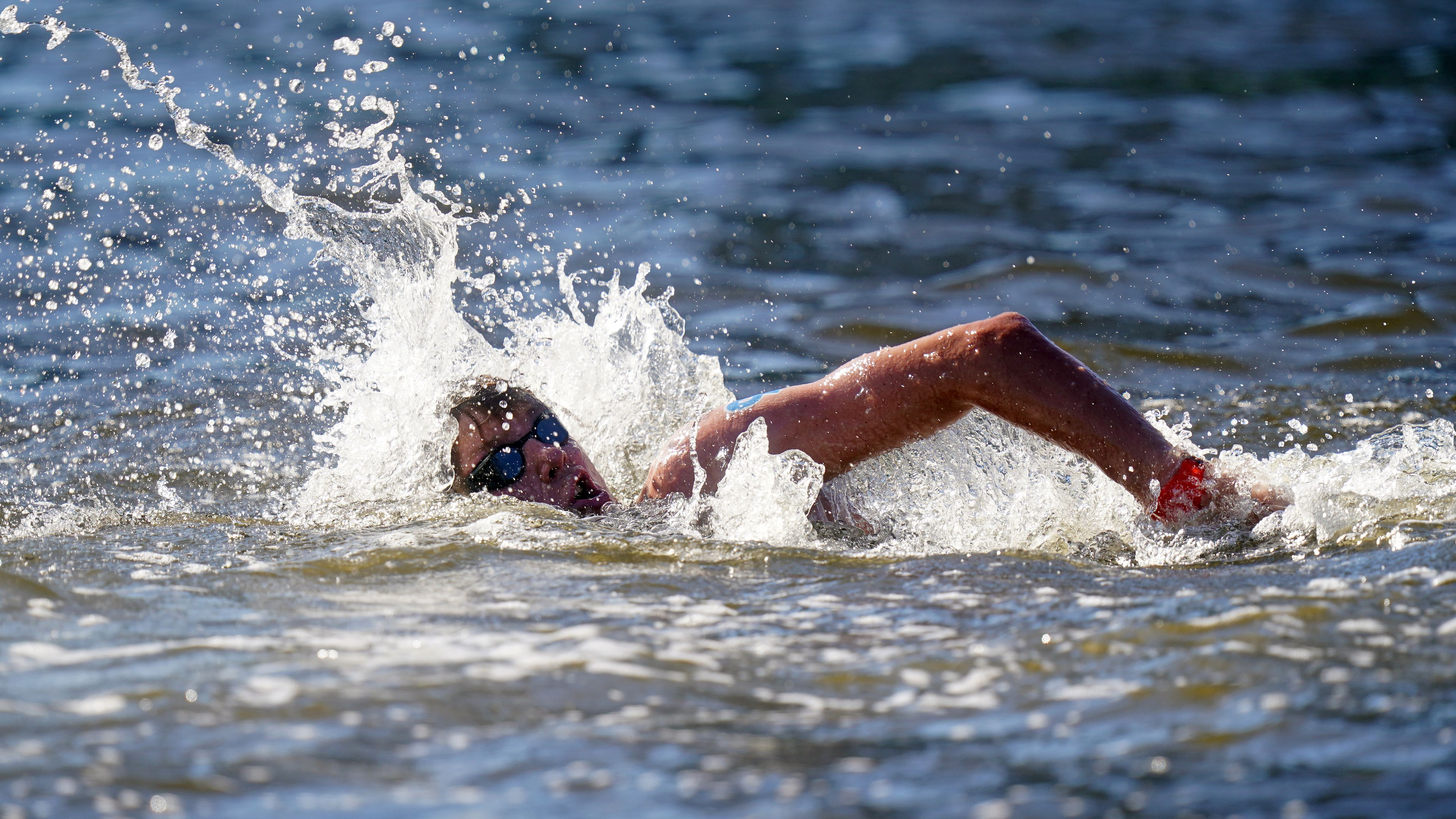 British marathon swimmer feared his eye had fallen out in Tokyo Olympic
