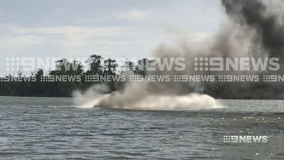 Speedboat bursts into flames at holiday hotspot