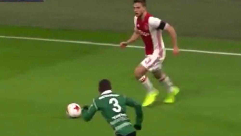 Dutch footballer hasn't heard of sportsmanship