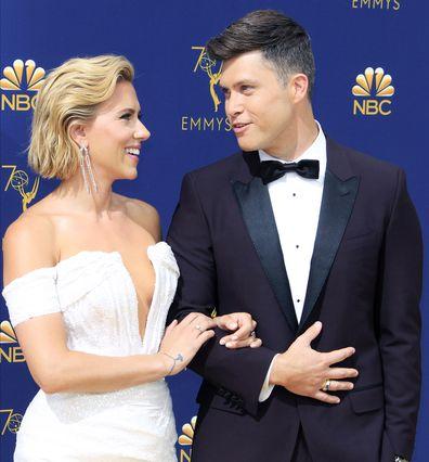 Scarlett Johansson announces engagement to SNL's Colin Jost