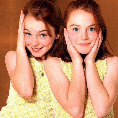 Lindsay Lohan as Annie James/Hallie Parker: Then