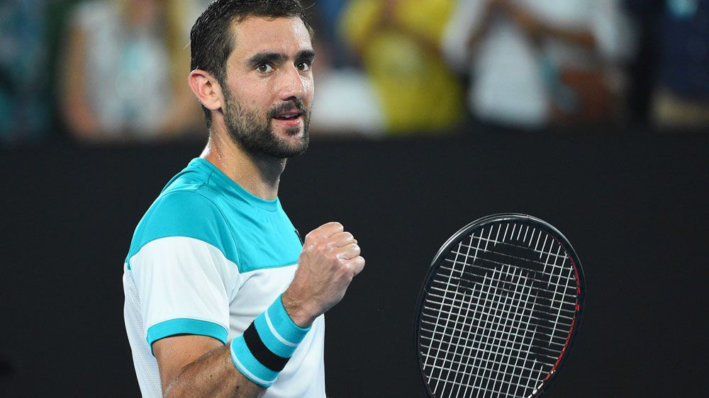 Marin Cilic awaits Federer or Chung at Australian Open