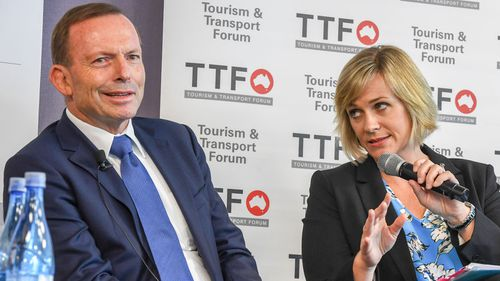 Tony Abbott is in the fight of his political career against Zali Steggall.