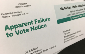 Record number of Victorians fined for failing to vote in state election