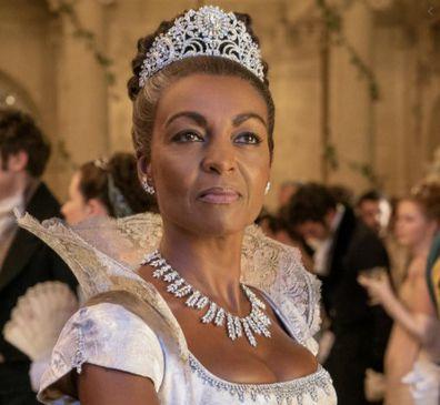 Adjoa Andoh plays Lady Danbury in Bridgerton.