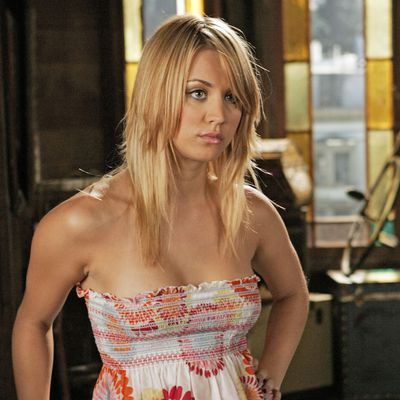 Kaley Cuoco as Billy Jenkins: Then
