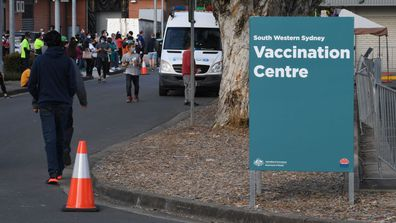 To date, more than 5.8 million NSW residents have been vaccinated against COVID-19. (Photo by James D. Morgan/Getty Images)