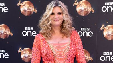 Susannah Constantine attends the red carpet launch for 'Strictly Come Dancing 2018' at Old Broadcasting House on August 27, 2018 in London, England.