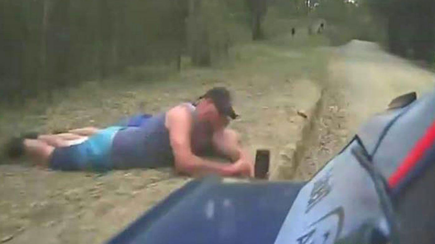 Rally Car fan takes selfie