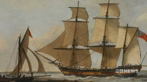 They went down with the Sydney Cove, which ran ashore off the coast of Tasmania in 1797. Picture: Supplied