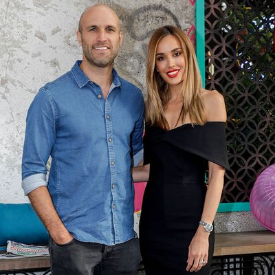 <p>Bec Judd and Chris Judd</p> <p>Married for seven years. First met in 2002.</p>