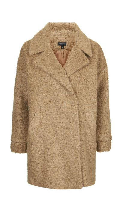 """<a href=""""http://www.topshop.com/en/tsuk/product/clothing-427/jackets-coats-2390889/slouchy-wool-blend-boyfriend-coat-4229472?bi=1&amp;ps=20""""> Slouchy Wool Blend Boyfriend Coat, approx $168, Topshop</a>"""