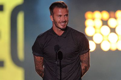 All hail D-Becks' tight tush!<br><br>Ladies, for more of Beckham's butt check out the H&amp;M ad in our slideshow. You're welcome.