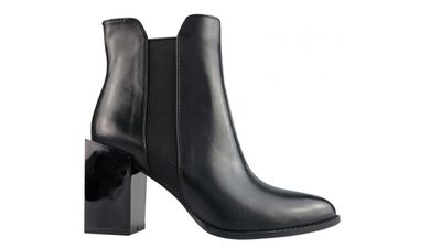 "<a href=""http://www.wittner.com.au/shoes/boots/hold-me-black.html""> Hold-Me Ankle Boot, $189.95, Wittner</a>"