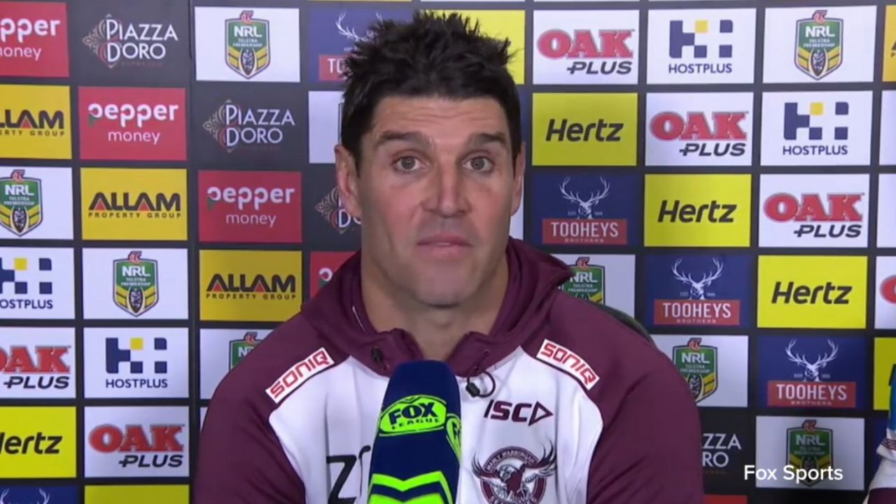 Manly coach blasts refs in NRL