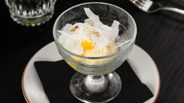 Gary Mehigan's healthy, sugar free and dairy free mango and banana ice cream