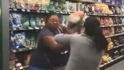 A fight in a Sydney Woolworths this week was allegedly over toilet rolls.